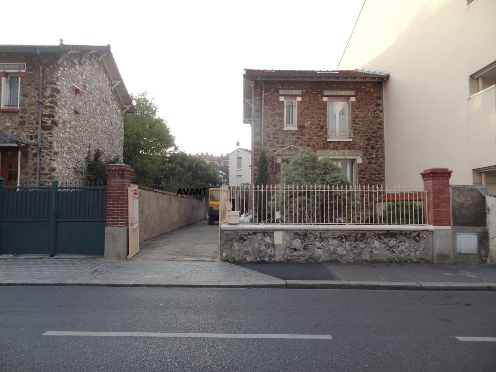 Vue pavillon avant extension.