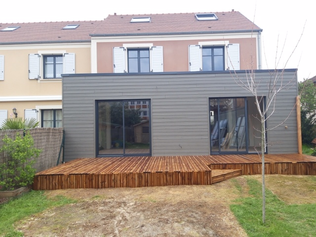 Extension de pavillon